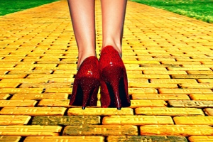yellow brick road oz